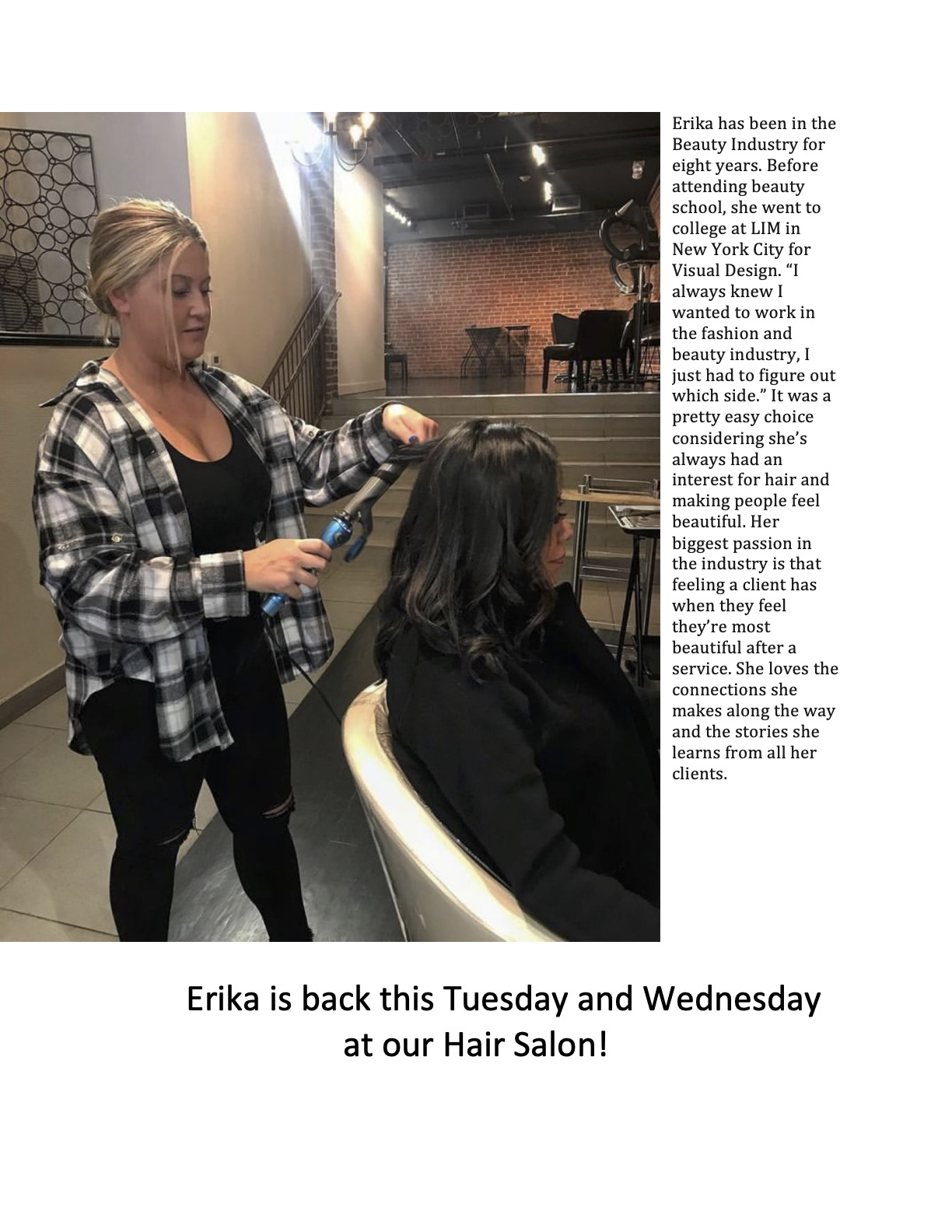 Erika The Hairdresser is back[3]